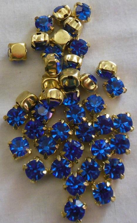 Sapphire Sew Ons7